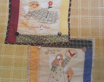 Spring and Summer Gardening Quilt Blocks Pattern