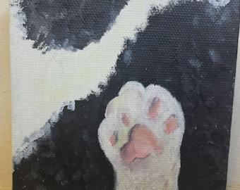 Personalized Cat Paw Portrait