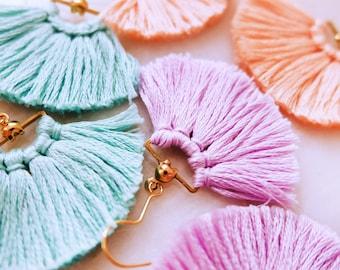 Blossom Tassel Earrings