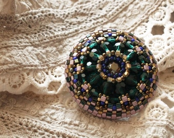 beaded brooches and pins,beaded brooch, gift brooch, bead embroidery, brooch embroidered, for her, beaded pin, beaded , gift shop