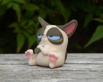 Grumpy Cat Ornament