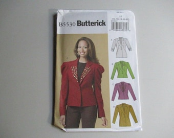 Misses' Jacket, Sewing Pattern including Plus Sizes  B5530 Butterick