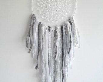 Dream grey dreams, Dreamcatcher Bohemian, trendy decoration