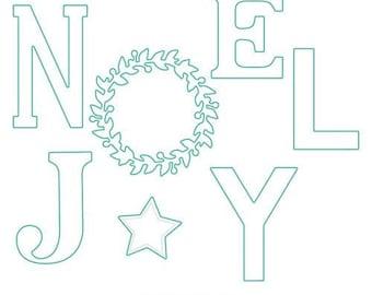 Concord and 9th - Christmas - Dies - Joyful Noel