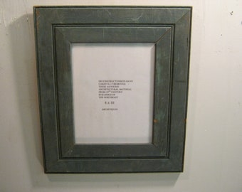 SHABBY ARCHITECTURAL Chic Salvaged Recycled Wood Photo Picture Frame 8x10 S 590-12