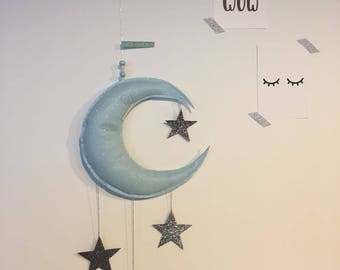 """Mobile """"moon and stars"""""""