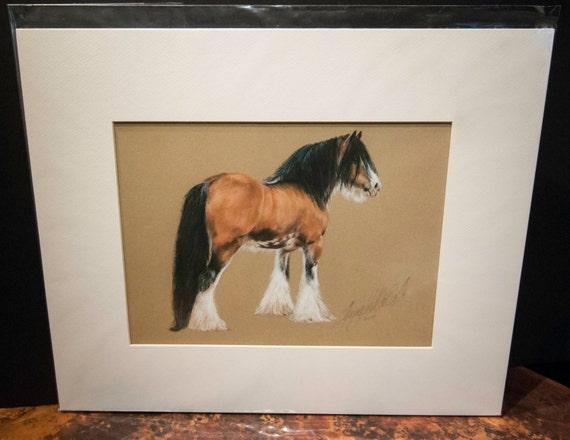 "Fine Art Giclee Print by Terry Kirkland Cook ""Gypsy Stallion Sundance Kid"""