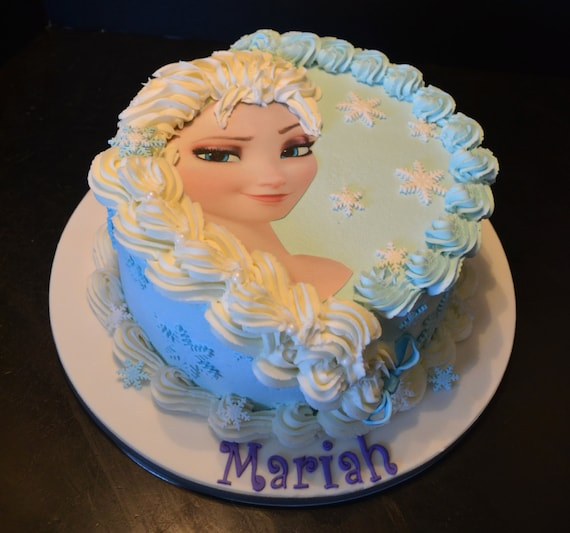 How To Decorate A Frozen Doll Cake