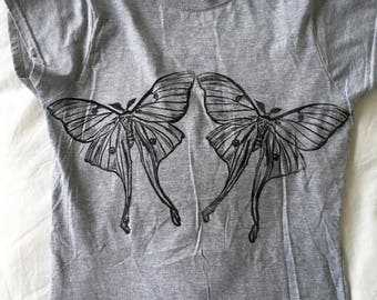 Ladies Luna Moth Tee