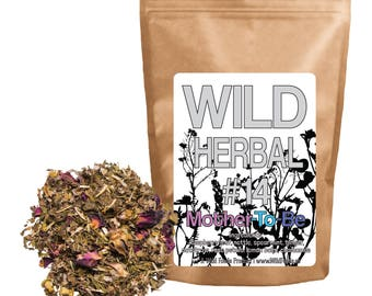 Wild Herbal #14 Mother Blend Tea - 8 Ingredient Blend (4 ounce)