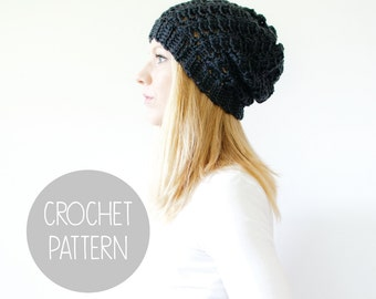 slouchy hat crochet pattern - the sumter