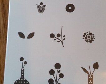 """Stampin' Up! """"Bright Blossoms"""" stamp set"""