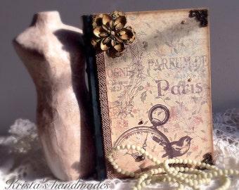 Vintage style diary