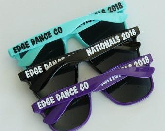 Personalized Sunglasses, Cheer Sunglasses, Team Sunglasses, Bachelorette Gifts, Dance Team Sunglasses, Bachelorette Party Favors