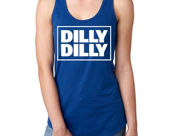Dilly Dilly Square Design Women's Lightweight Racerback Tank Top