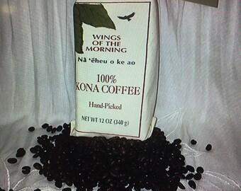 100% Kona Coffee Whole Bean