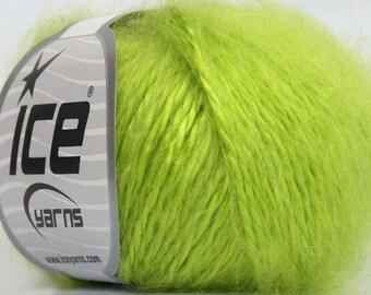 lime green winter wool ICE sale 50gr aig 4 / / 40