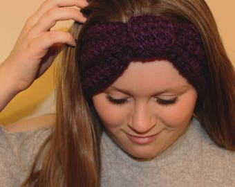 Knotted Ear-Warming Headband