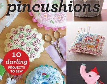 Softcover Book, Make Pincushions, Sewing Accessories, Pincushion, Sewing Books, Sewing Patterns, Pin Cushion Patterns, Pincushion Patterns