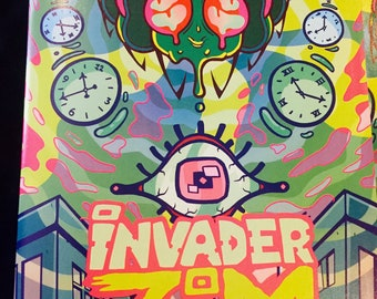 Invader Zim Issue #28 SIGNED By Artist