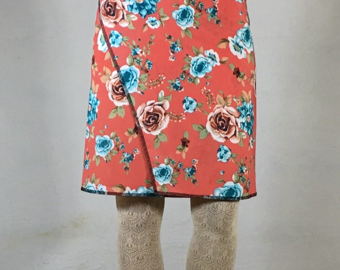 Snap Around Skirt, Spring Classic by Erin MacLeod