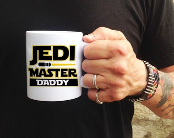 Star Wars Gift, Star Wars Mug, Jedi Master Mug, Custom Star Wars Gift, Personalized Star Wars Mug, Jedi Coffee Mug, Star Wars Lover