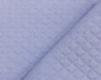Diamond Quilted Fabric By the Yard (Wholesale Price Available By the Bolt) USA Made Premium Quality - 8001C2 Sky Blue - 1 Yard