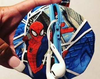 Spider-Man headphone case