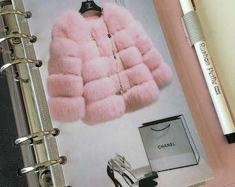 Pink Fur Personal Planner Dashboard