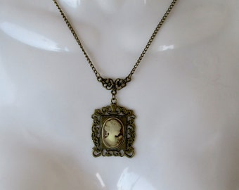 Victorian Timeless, Cameo, Pendant, Fresh Vintage, Edwardian, Wonderful Gift, Gift Ready, Edwardian, Cosplay, Downton Abbey Jewelry
