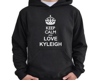 Keep calm and love Kyleigh Hoodie