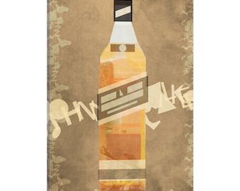 iCanvas Johnnie Gallery Wrapped Canvas Art Print by 5by5collective