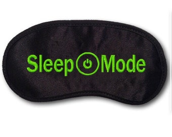 Xbox one - Sleep Mode - Embroidered Eye Mask - favorite on pinterest tumblr instagram polyvore