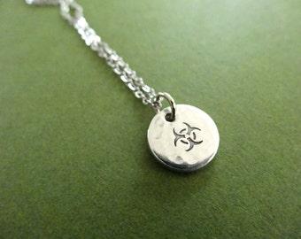 Biohazard Necklace - Biohazard Charm