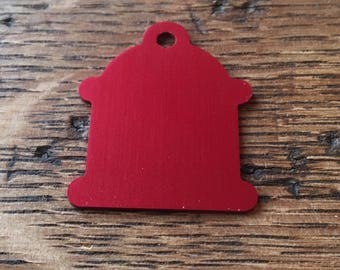 Personalized Pet ID Tags (Fire Hydrant)