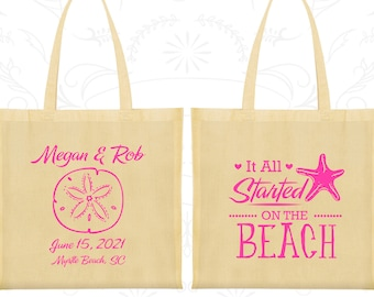 Wedding Welcome Bags, Tote Bags, Wedding Tote Bags, Personalized Tote Bags, Custom Tote Bags, Wedding Bags, Wedding Favor Bags (414)