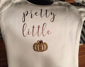 Pretty little pumpkin