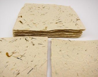 19 Handmade paper sheets - discounted & ready to ship!