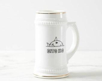 Chunky Bite Me Stein Mug