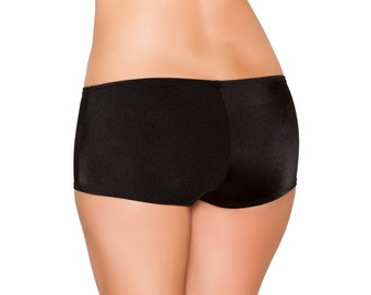 Rave Booty Shorts - Booty shorts- low cut full coverage