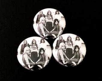 Runaways 1 inch pinback button or magnet