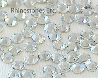 Crystal 10ss Swarovski Elements Rhinestones 2058 Flat Back 1 gross (144 pieces)