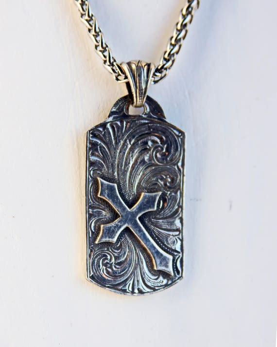 rockin out jewelry rockin out jewelry survivor large sterling silver tag 8377