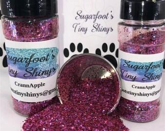 Glitter-CrannApple (polyester glitter, plastic glitter, glitter, embellishments, crafts, scrapbooking, tumblers, nail art)