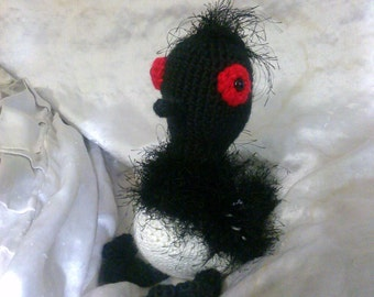 Crochet Becky loon bird finding dory inspired