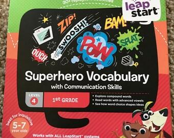 LeapStart Superhero Vocabulary