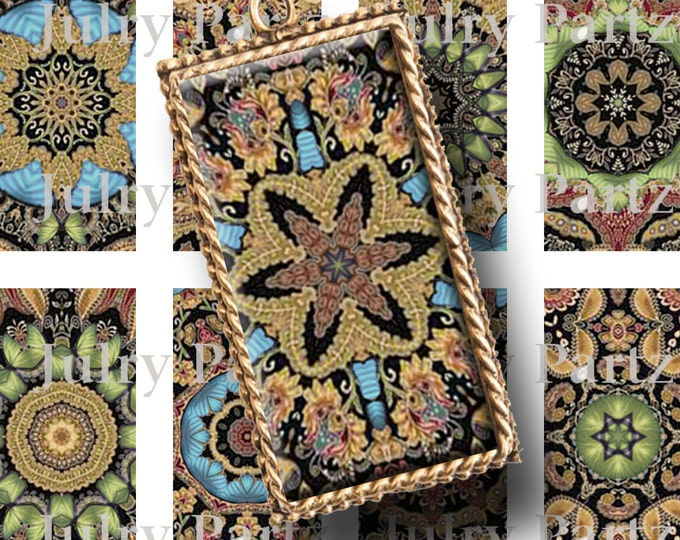 DAMASCUS 1x2 images, Printable Digital Images, Cards, Gift Tags, Stickers, Scrabble Tiles, Magnets