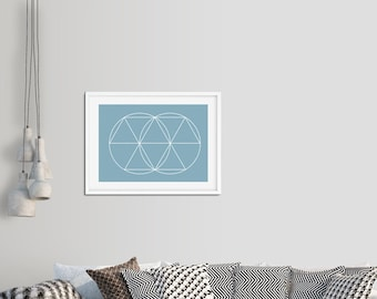 The assembly print - Sacred Geometry
