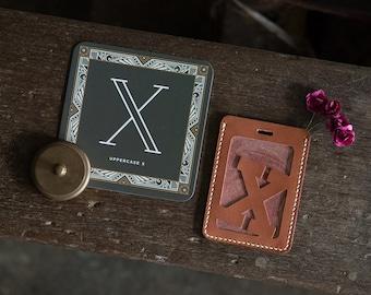Alphabet Card Holder Luggage Tag Version O-Z DIY Kit