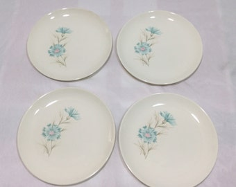 Taylor Smith Taylor BOUTONNIERE Ever Yours 4 Side Bread Plates